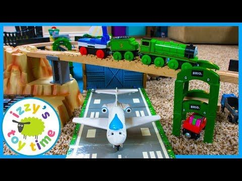 Trains For Kids - Unboxing Gold Mountain RC Toy Train Set + Lego Minifigures! - YouTube
