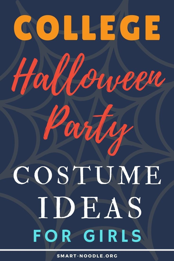 College Halloween Party Costume Ideas for Girls