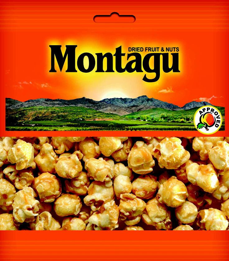 Montagu Dried Fruit - CARAMEL POPCORN SNACK PACK http://montagudriedfruit.co.za/mtc_stores.php