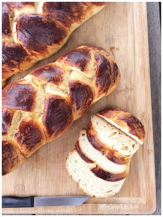 GREEK TSOUREKI - EASTER BREAD
