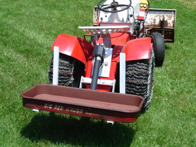 Diy Tractor Accessories : Best images about garden tractors and small loaders on