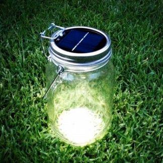 Consol Bocal Solaire BOCAL SOLAIRE - Lanterne d'extérieur LED solaire H18cm