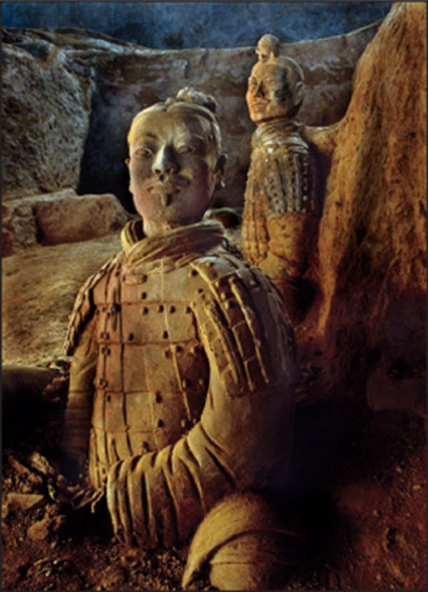 THE TERRA-COTTA WARRIORS OF Xl'AN XI'AN, CHINA