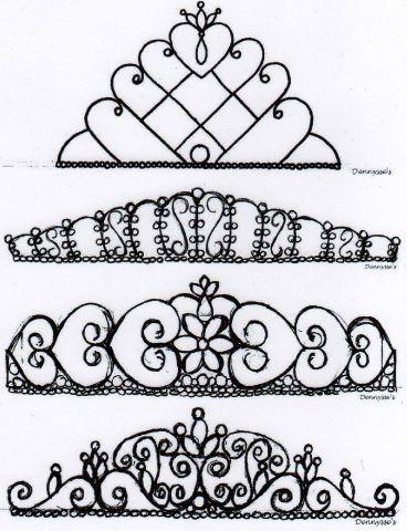 Tuto couronne en glacage royal