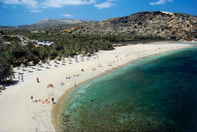 Vai beach, Crete, Greece, Europe