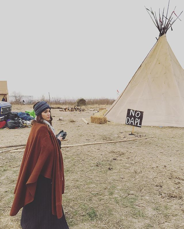 "PLEASE READ and SHARE! Hearing that DAPL wants to bring in ""agitators"" disguised as protectors / protesters to stir up violence on the front lines in order to justify police retaliation. Morton county law enforcement has now been authorized to use live rounds at their discretion!! Spread this!!! #standingrock #standwithstandingrock #nodapl - nikki reed"
