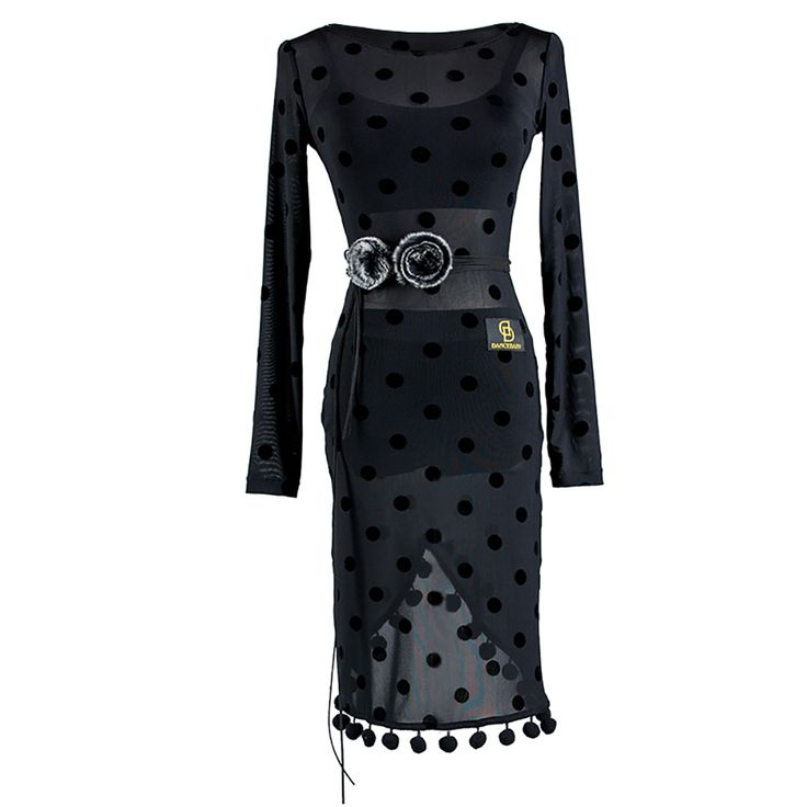 >> Click to Buy << 2017 New Latin Dance Dress Free Belt For Women S-L Lycra Dots Stage Perform For Dance Paso Doble Cow Boy Salsa Free Ship DW1117 #Affiliate