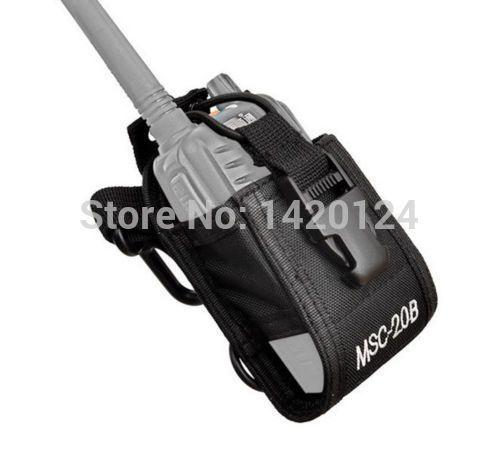 Baofeng radio case holder MSC-20B XQF portable for Icom Baofeng UV-5R/5RE/5RA PLUS TYT TH-F8+ Yaesu Vextex  free shipping 2016