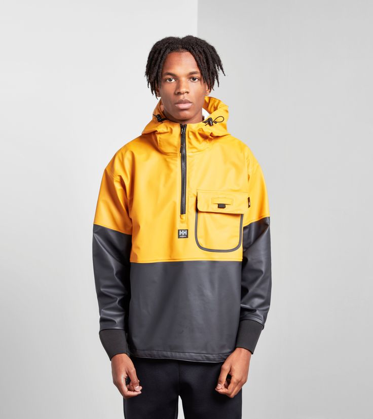 Helly Hansen Roan Anorak Jacket - find out more on our site. Find the freshest in trainers and clothing online now.