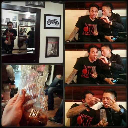 ★B.R.O.M.A.N.C.E★ i'm fckstards with iONE the BarberHooD @alexanderbarbershop jakarta