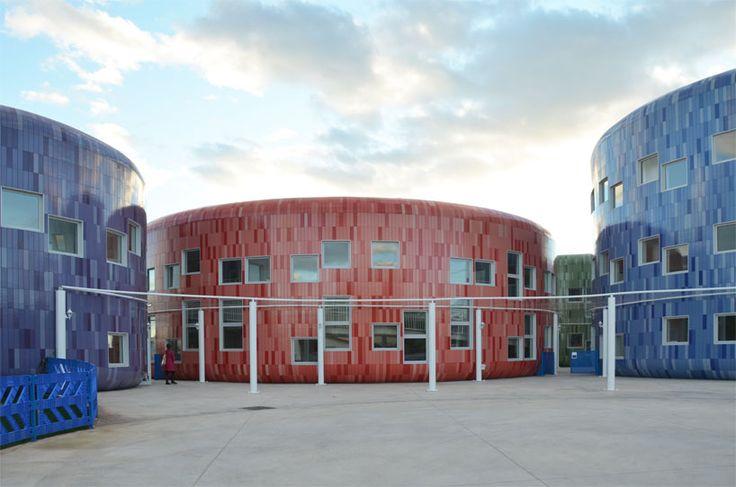 'innovation center for children' by four square arquitectos , valencia, spain