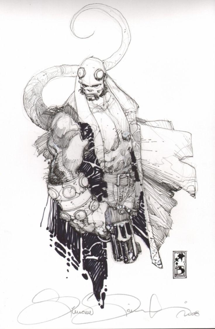 Hellboy by Simone Bianchi *