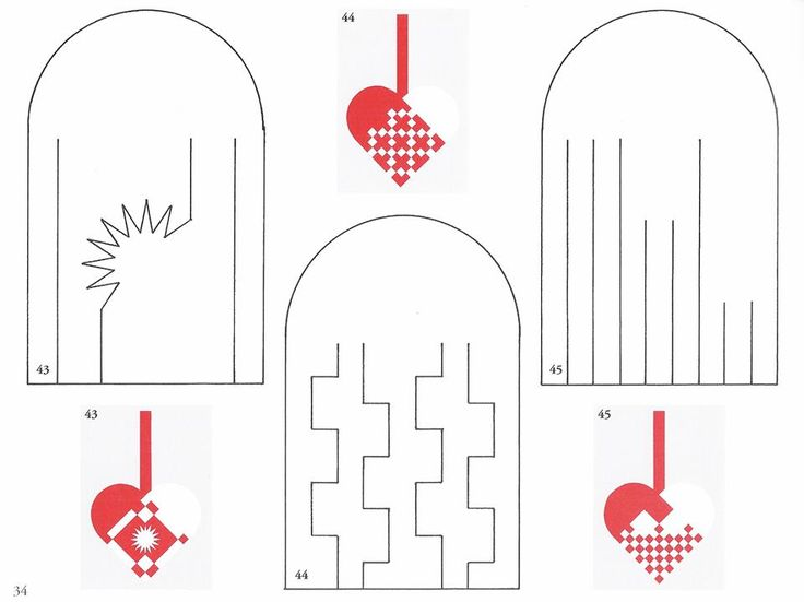 How To Make A Woven Heart Basket : Best images about paper heart baskets christmas