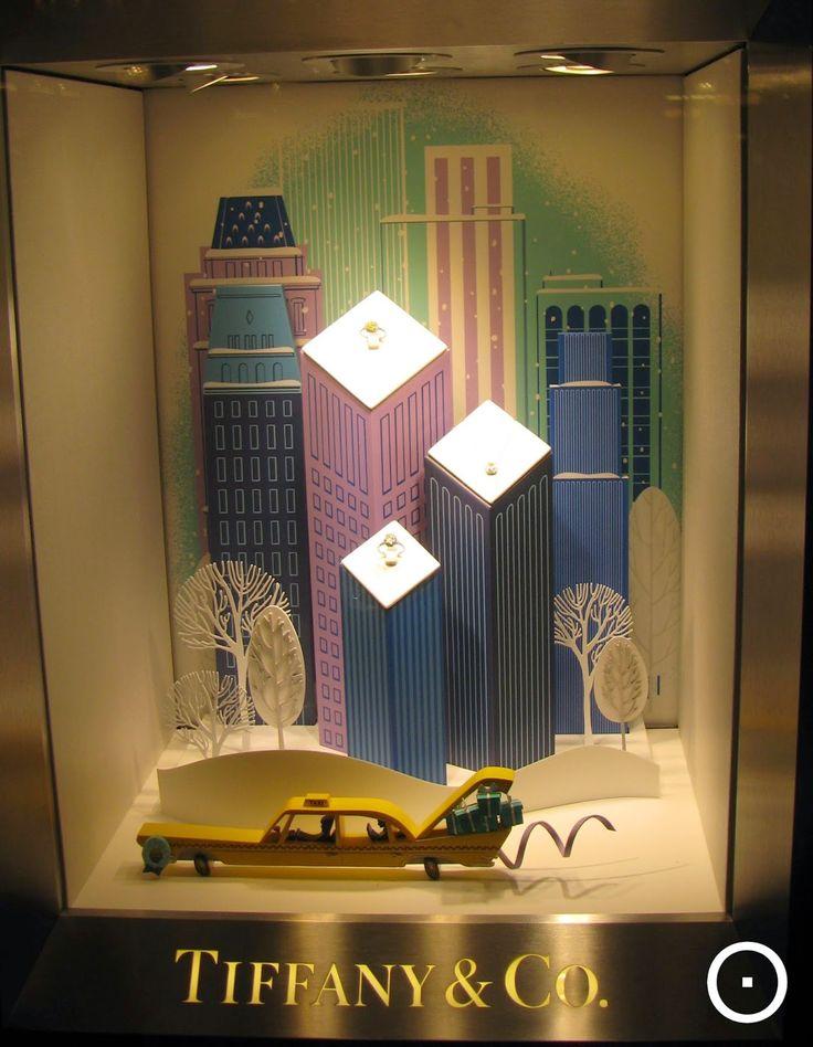 Tiffany, more Amsterdam Xmas shopwindows on http://viewonretail.blogspot.nl/ and https://www.facebook.com/viewonretail