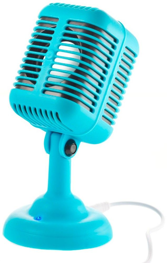 ROCKABILLY MIC SPEAKER Listen to some good ol' country blues with this Rockabilly Mic Speaker! Just plug it into your Mp3 player or phone and blast your favorite golden oldies until the cows come home. $25.00