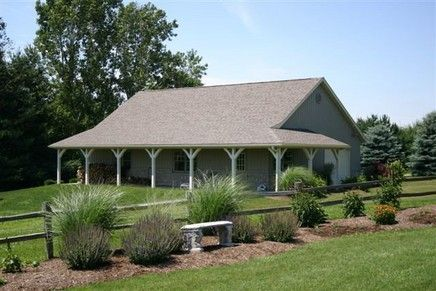40 X 60 Pole Barn Home Designs | pole barn house | ohio pole barns: Listed in Horse Barn Construction ...