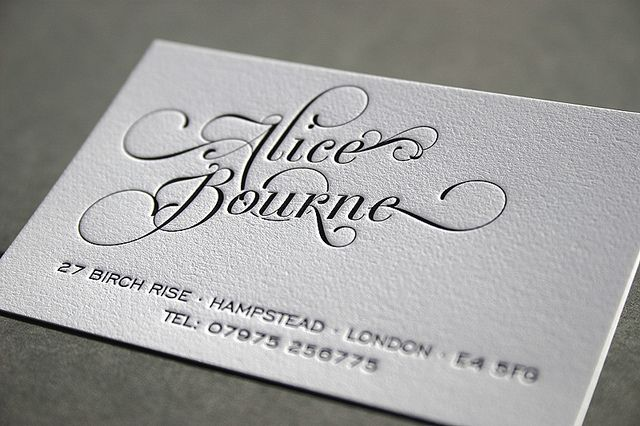 calling card.... if I ever decide to actually have cards for my cake decorating stuff...