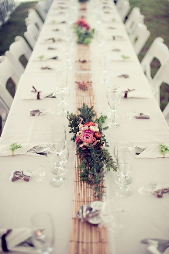 20 best wedding table flowers images on pinterest dinner table catherine and james laidback country wedding junglespirit Image collections