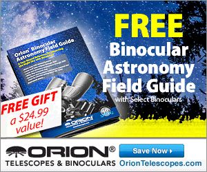FREE Gift with Purchase - Astronomy Binocular Field Guide!