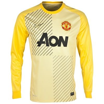 Nike Manchester United Change Goalkeeper Shirt Manchester United Change Goalkeeper Shirt 2013/14 - KidsTEAM PRIDE, HIGH-PERFORMANCE COMFORT.The 2013/14 Manchester United Replica Kids Goalkeeper Jersey from Nike is the ideal choice for a child wh http://www.MightGet.com/february-2017-2/nike-manchester-united-change-goalkeeper-shirt.asp