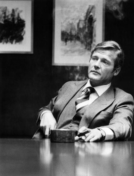 Your Morning Shot: Roger Moore