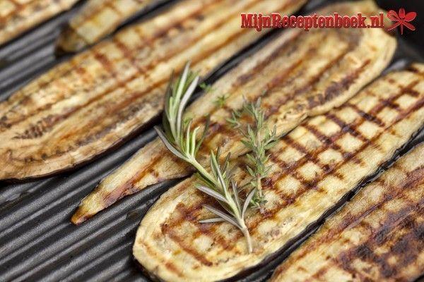 Gegrilde aubergine recept