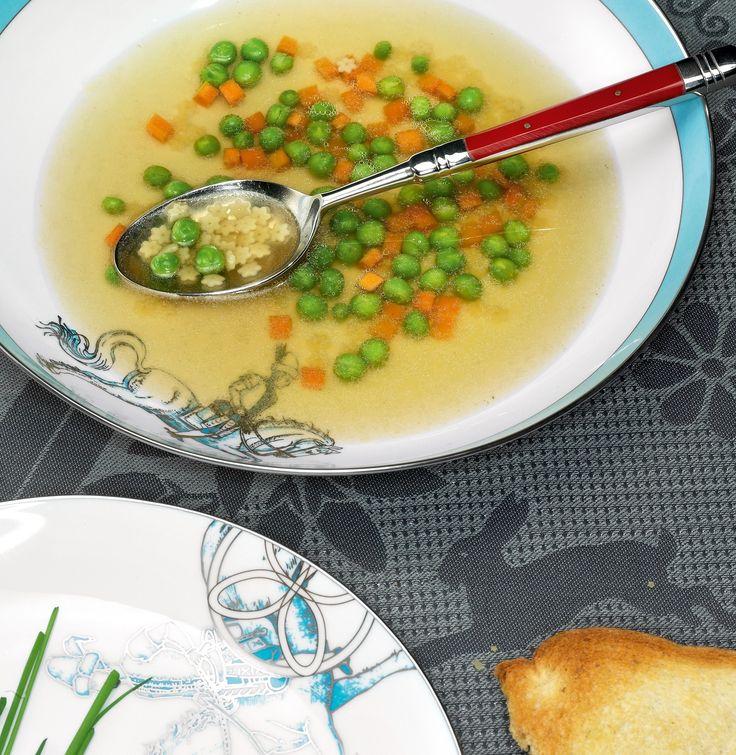 Детские обеды в нашем понимании - это та еда, которую с равным успехом и…