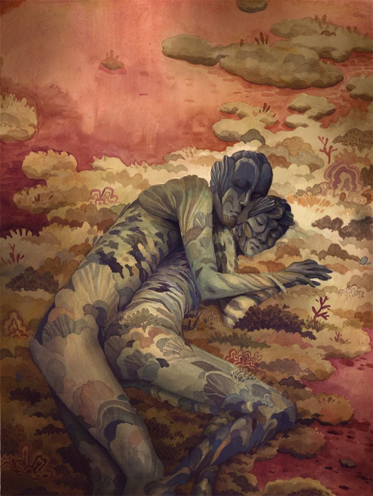 Two Lovers by ~Biffno...the palette is splendid! <3: Paintings Art, Galleries, Lovers Art, Art Paintings, Saatchi Online, Laura Bifano, Art Prints, Illustration, Art Love Couple