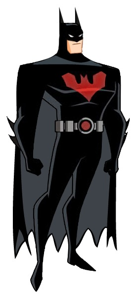 Batman Beyond-so, is this Bruce Wayne (from JLU) in the Terry McGinnis Batman suit?