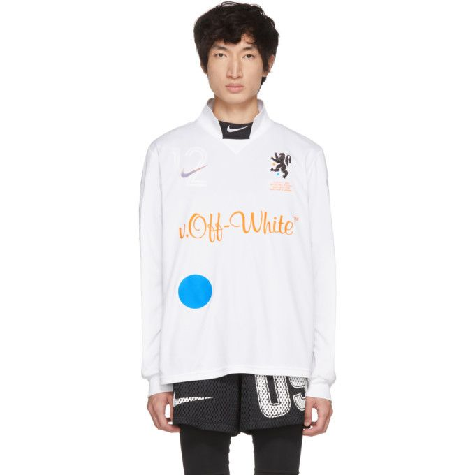 Nikelab White Off White Edition M Nrg Carbon Home Jersey T Shirt