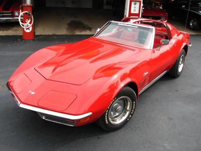 1972 Chevy Corvette Stingray Price - $20,900 Location - , Oklahoma