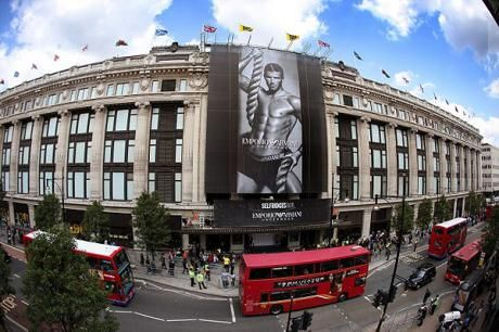 Selfridges, London - Where Serenity buys her dress for the Beauty Bits launch party.