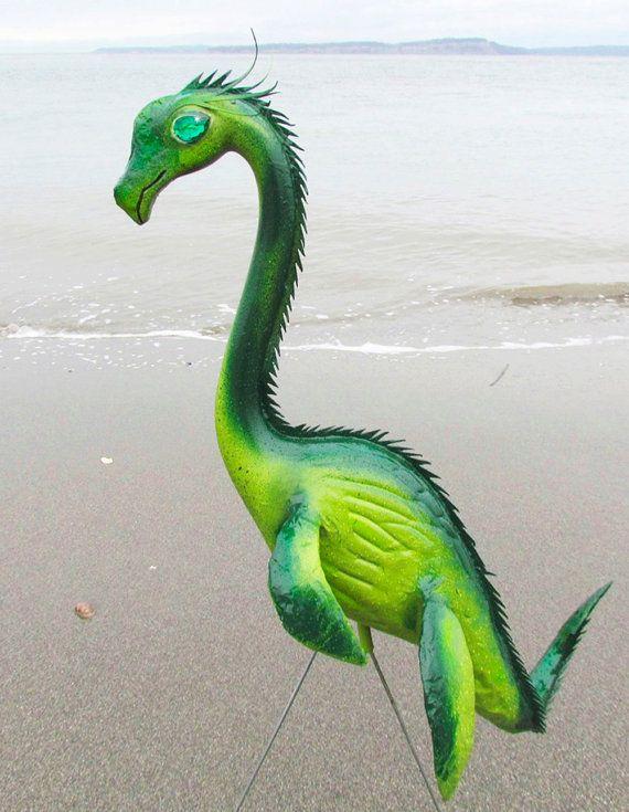 Fearsome Flamingo Dragons For Your Geek Garden
