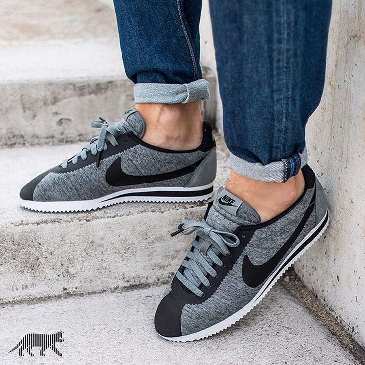 Nike Cortez Tech Pack: Tumbled Grey/Black