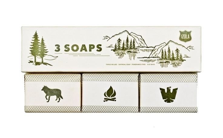 SCOUT SOAP SET