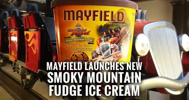 Dollywood's Lightning Rod Gets Special Mayfield Ice Cream Flavor