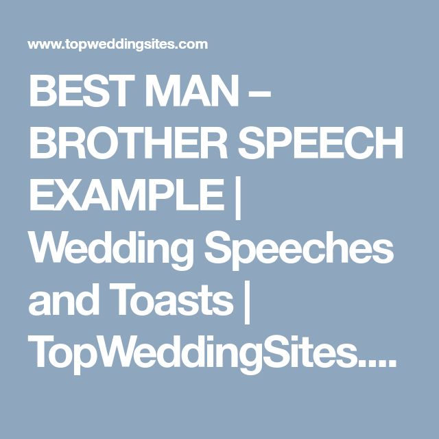 Best 25+ Wedding Speech Examples Ideas On Pinterest