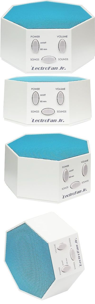 Sound Therapy: Lectrofan Jr. - White Noise Sound Machine With 6 Fan And 6 White Noise Sounds... -> BUY IT NOW ONLY: $42.82 on eBay!