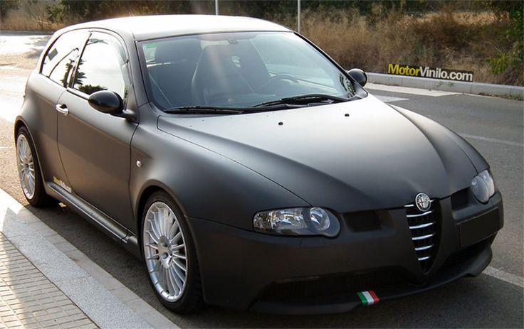 Alfa Romeo 147 GTA Vinilo Negro Mate