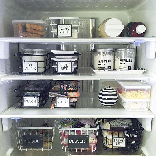 食品収納アイデア総集編 ケースやラックでキッチンを整理整頓 収納