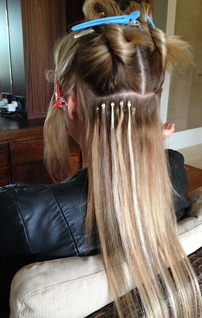 GLAM TIPS: How to apply micro hair extensions?