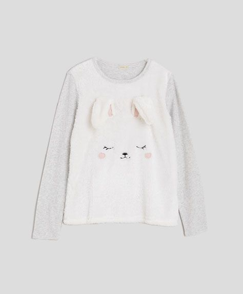 Rabbit sweatshirt - OYSHO