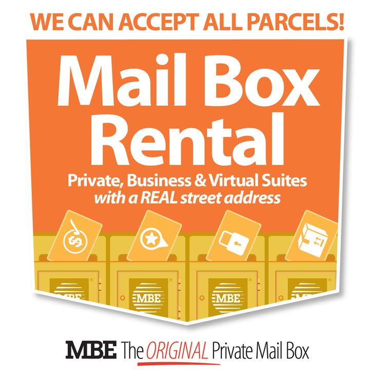 The ORIGINAL Private Mailbox Service (est 1980) - An address that can #worksmarter - https://de.pinterest.com/mbebrisbanecbd/mailboxes/