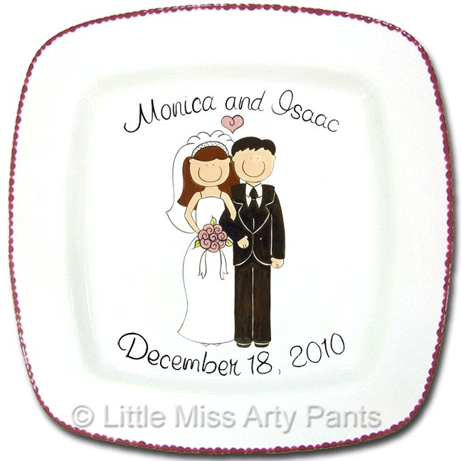 53 best wedding and anniversary plates and platters personalized