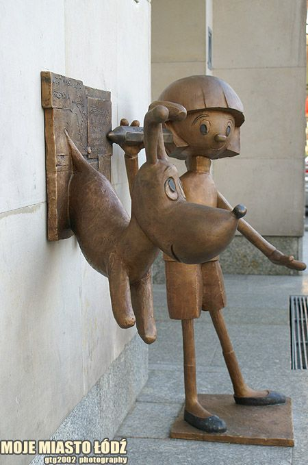 Łódź, Poland ... these are very popular characters from tv cartoons for kids from 30 years ago or so