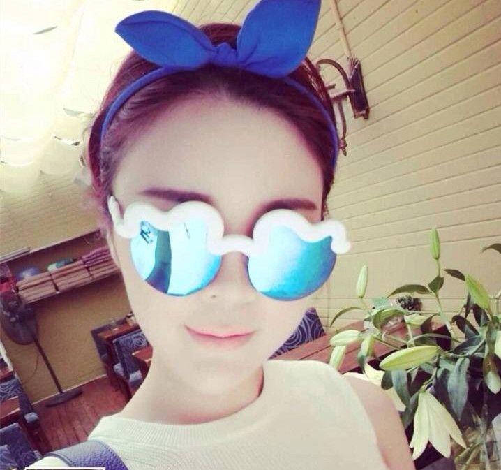 Cute Round Cloud Wave Eyeglasses Hologram Color Women & Men Polarized Lenses Sunglasse Cycling Eyewear UV Protection Sun Glasses on Aliexpress.com | Alibaba Group