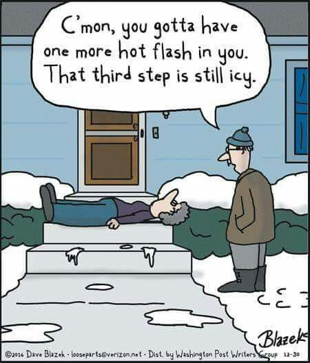 The joys of menopause!
