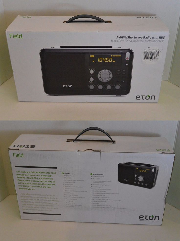 Portable AM FM Radios: Eton Grundig Am Fm Shortwave Field Radio With Alarm Clock, Rds, Sleep Timer -> BUY IT NOW ONLY: $134.99 on eBay!
