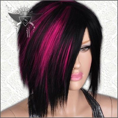 Ροζ και μαύρα μαλλιά σε εντυπωσιακούς συνδυασμούς!!!