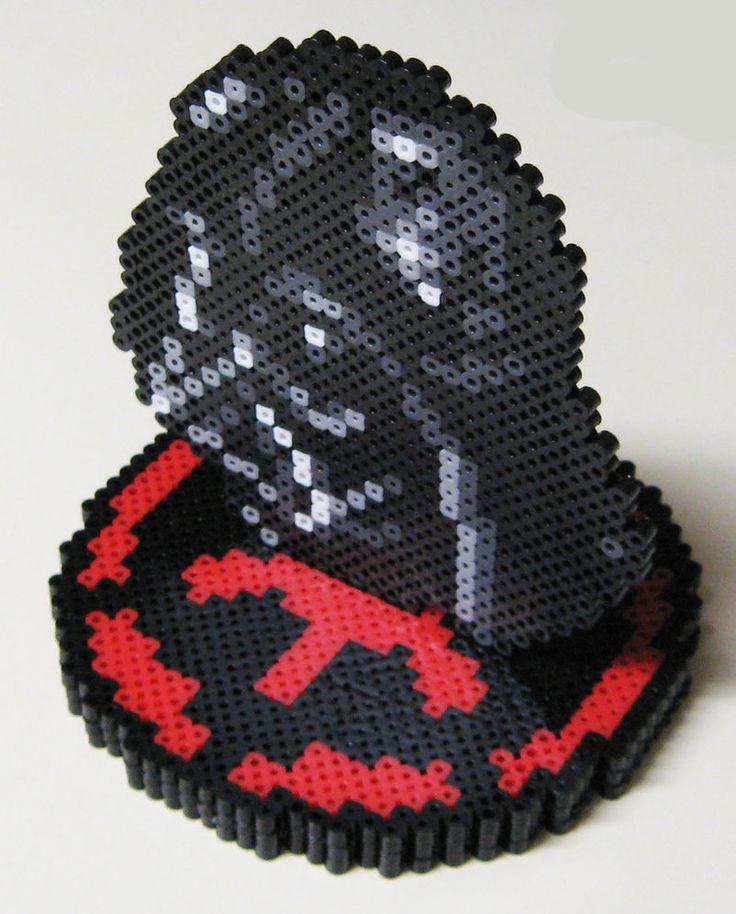 Perler Darth Vader Helmet by ~Dlugo1975 on deviantART